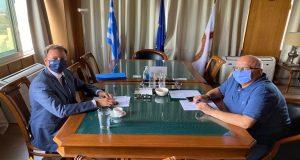 Συνάντηση Σ. Λιβανού με τον Πρύτανη του Παν. Πατρών Χ.…