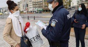 19 παραβάσεις-πρόστιμα για μη χρήση μάσκας στη Δ. Ελλάδα