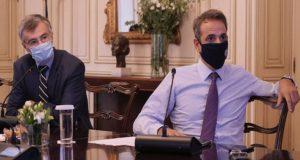 Mητσοτάκης – Τσιόδρας: Επιπλέον μέτρα για τον περιορισμό διασποράς στην…