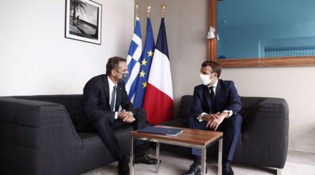 Ολοκληρώθηκε το τετ α τετ Μητσοτάκη – Μακρόν: Η Ελλάδα δεν είναι μόνη στην Αν. Μεσόγειο