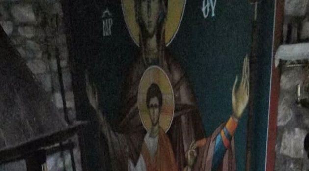 Πλημμύρισε το ιστορικό Μοναστήρι του Ιωάννη του Προδρόμου στο Θέρμο (Photos)
