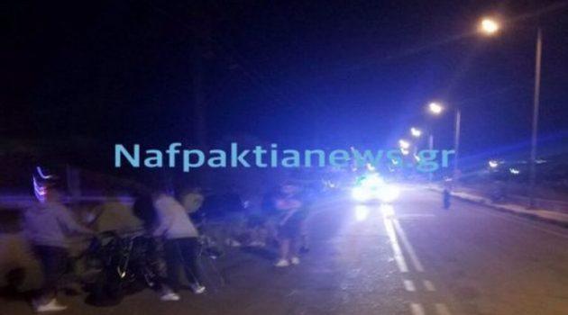 Ναύπακτος: Δύο τραυματίες μετά από σοβαρό τροχαίο στην περιοχή του ΣΚΑ