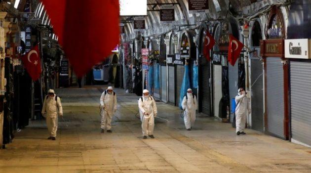 Σαρωτική δεύτερη κορύφωση του κύματος κορωνοϊού στην Τουρκία