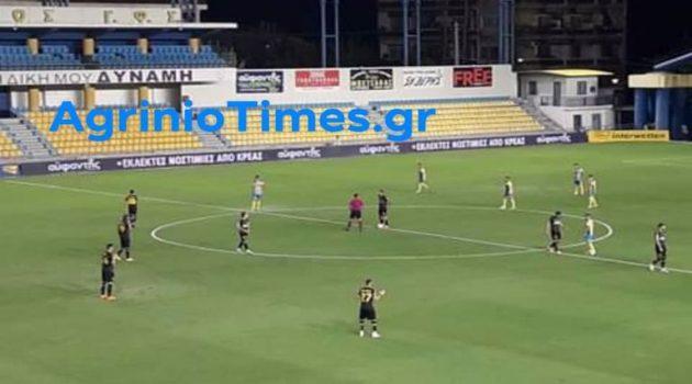 SL1 – Τέλος πρώτου ημιχρόνου: Παναιτωλικός (0-0) Α.Ε.Κ.