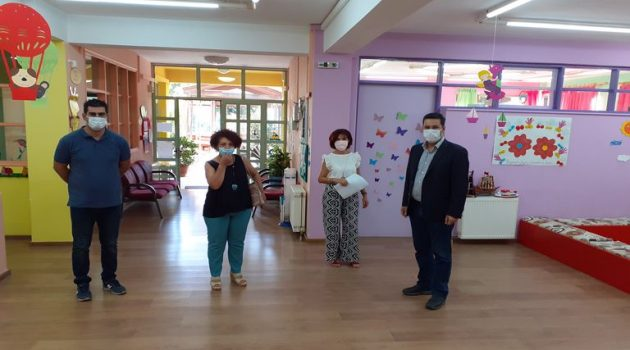 Επίσκεψη Δημάρχου Αγρινίου στον 6ο Παιδικό Σταθμό (Photos)
