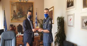 Συνάντηση Δημάρχου Αγρινίου με το νέο Διοικητή του Τμήματος Τροχαίας…