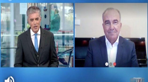 Νίκος Παπαθανάσης: «Περιμένω να κάνω το τεστ – Είμαι σε καραντίνα»
