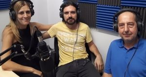 Γιώργος Λουριδάς: «Εντυπωσιάστηκα από τον κόσμο στο Αγρίνιο» (Ηχητικό)