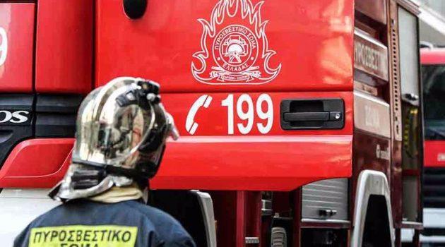 Κινητοποίηση της Π.Υ. Αγρινίου για πυρκαγιά στην περιοχή της Κυψέλης