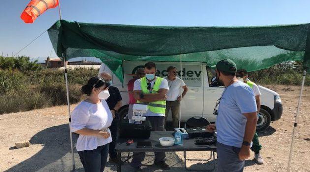 Μεσολόγγι: Η Μαρία Σαλμά στις εργασίες καταπολέμησης κωνοποειδών (Photos)