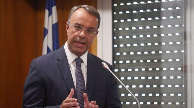 Σταϊκούρας: Προς παράταση της μείωσης ενοικίου για ένα μήνα