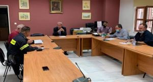 Δήμος Θέρμου: Συνεδρίασε το Συντονιστικό Όργανο Πολιτικής Προστασίας (Photos)