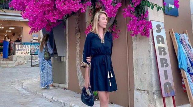 Τατιάνα Στεφανίδου: Απόδραση στη Τζια μαζί με το σύζυγό της, Νίκο Ευαγγελάτο