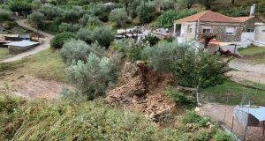 Δ. Θέρμου: Μεγάλες καταστροφές από την πρωινή πλημμύρα (Photos)