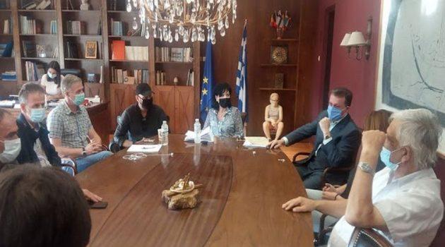Σύσκεψη για το Τ.Ο.Ε.Β. Ανακτορίου Δήμου Ακτίου- Βόνιτσας στην Π.Ε. Αιτ/νίας
