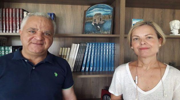 Η συνέντευξη της Ντίνας Κατσαρή στον «Antenna Star Radio FM 103.5» (Ηχητικό)