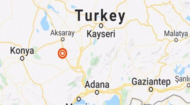 Σεισμός 5,3R στην Κεντρική Τουρκία