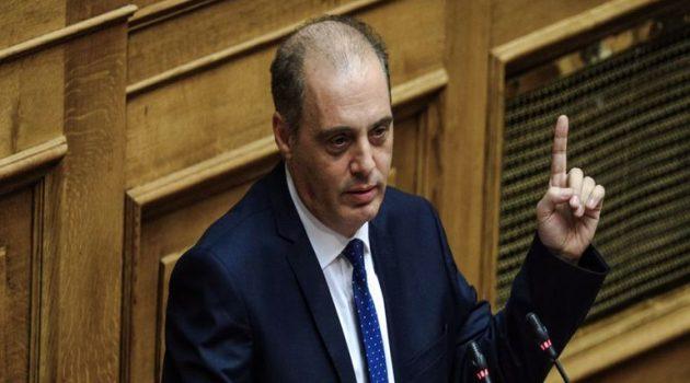 Ο Βελόπουλος για την άμεση αποπεράτωση του αποχετευτικού δικτύου στο Παναιτώλιο