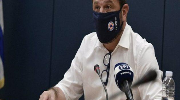 Χαρδαλιάς: Χωρίς επιβαρυμένο επιδημιολογικό φορτίο η Αιτωλοακαρνανία
