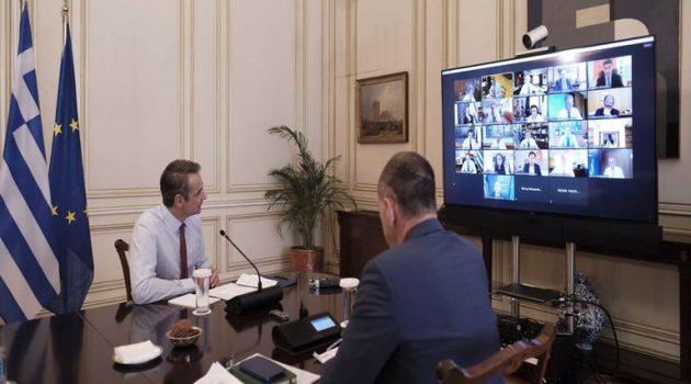 Υπουργικό Συμβούλιο: Συνεδριάζει αύριο μέσω τηλεδιάσκεψης