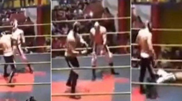 Μεξικό: Νεκρός παλαιστής κατά τη διάρκεια αγώνα wrestling (Video)