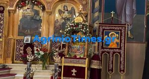 Αγρίνιο: Με λαμπρότητα ο εορτασμός του Αγίου Δημητρίου (Photos)