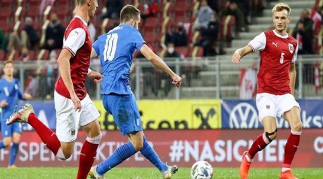 Φιλική ήττα για την Εθνική με 2-1 από την Αυστρία