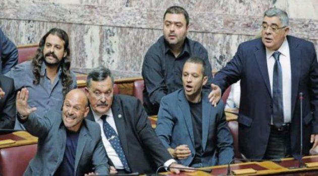 Ιστορική απόφαση: Ένοχοι για εγκληματική οργάνωση Μιχαλολιάκος και όλοι οι πρώην χρυσαυγίτες βουλευτές