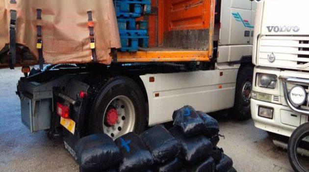 Ιωάννινα: Συνελήφθησαν με 115 κιλά ακατέργαστης κάνναβης (Photos)