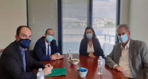 Συνάντηση του Λ. Δημητρογιάννη με εκπροσώπους του ΠΑ.Σ.Ε.Π.ΠΕ.