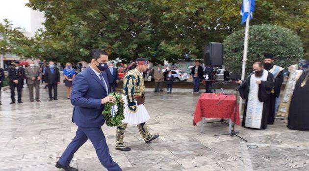 Ο Δήμαρχος Αγρινίου Γ. Παπαναστασίου για το συμβολισμό της ημέρας (Photos)