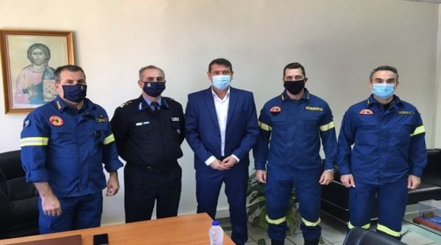 Επιθεώρηση Εποχικού Πυροσβεστικού Κλιμακίου Χαλκιοπούλων (Photos)