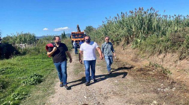 Καλύβια Αγρινίου: Έργα καθαρισμού και διάνοιξης (Photos)
