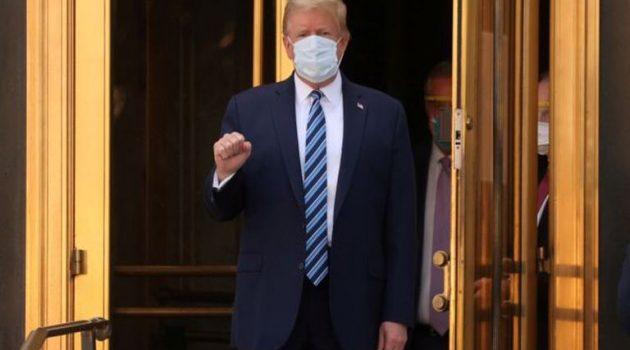 Θεατρική επάνοδος Τραμπ στο Λευκό Οίκο – Ήταν τελικά άρρωστος;
