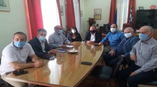 Αιγιάλεια – Κατσιφάρας: Σειρά παραγωγικών και σημαντικών συναντήσεων