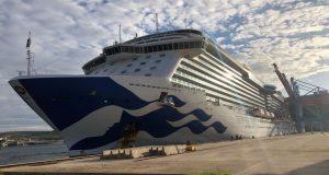 Για πρώτη φορά κρουαζιερόπλοιο στο Λιμάνι του Αστακού