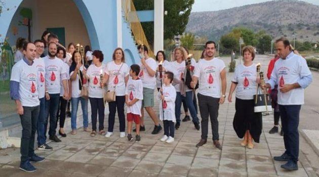 Αστακός: Λαμπαδηδρομία εθελοντών αιμοδοτών (Photos)