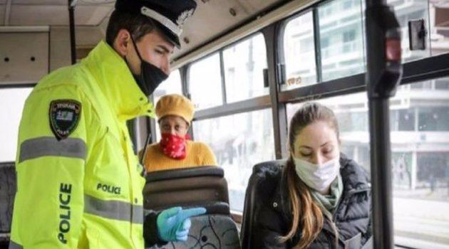 Αγρίνιο: Πέντε νέα πρόστιμα για τη μη χρήση μάσκας