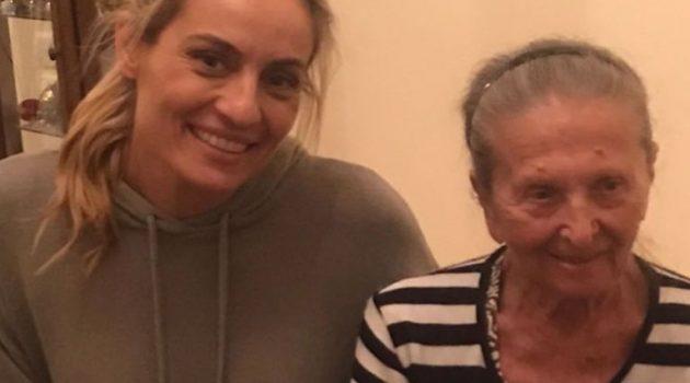 Ελεονώρα Μελέτη: Τα τρυφερά λόγια για την 86χρονη γιαγιά της