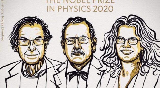 Νόμπελ Φυσικής 2020: Σε τρεις επιστήμονες για τις μαύρες τρύπες