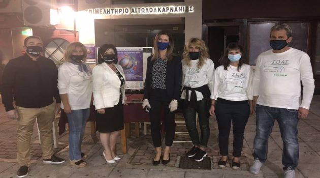 Η Π.Ε. Αιτωλ/νίας συμμετείχε στην «Ευρωπαϊκή Νύχτα Χωρίς Ατυχήματα» (Photos)