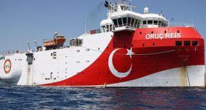 Oruc Reis: Πλέει με ρότα δυτική προς τη Ρόδο
