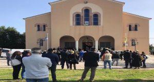 Παναιτώλιο Αγρινίου: Το «τελευταίο αντίο» στον 11χρονο Κων. Ψειμάδα (Photos)