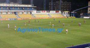 SL1 – Τέλος παιχνιδιού: Παναιτωλικός (1-1) Αστέρας Τρίπολης