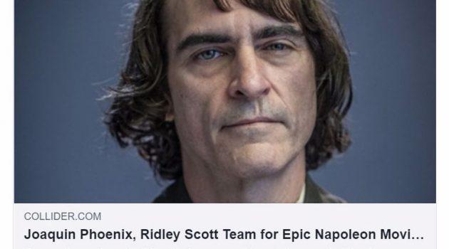 «Kitbag»: Ο Χοακίν Φίνιξ στο ρόλο του Ναπολέοντα