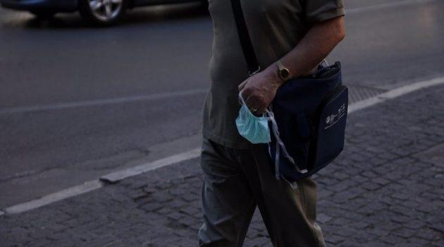 Αγρίνιο: Τρεις νέες παραβάσεις για μη χρήση μάσκας