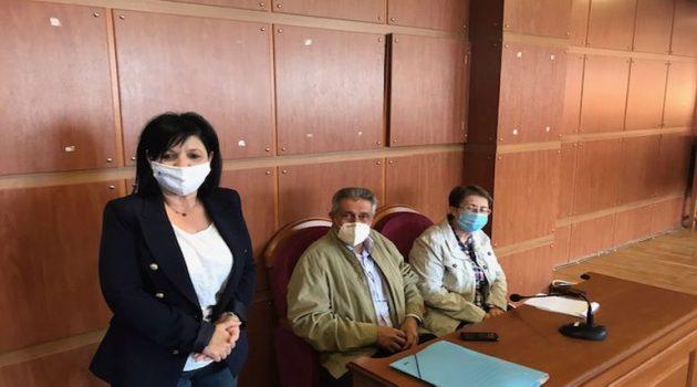 Σύσκεψη τήρησης μέτρων προστασίας στα Σχολεία της Π.Ε. Αιτωλ/νίας (Photos)