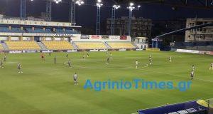 SL1 – Τέλος πρώτου ημιχρόνου: Παναιτωλικός (0-1) Αστέρας Τρίπολης