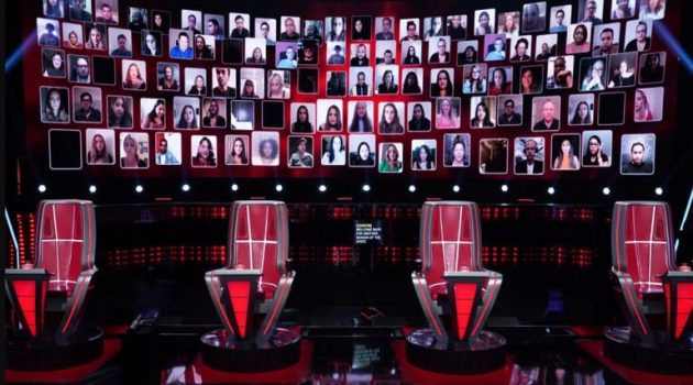 «The Voice»: Η πρώτη εκπομπή που θα βγει με εικονικό κοινό λόγω ιού