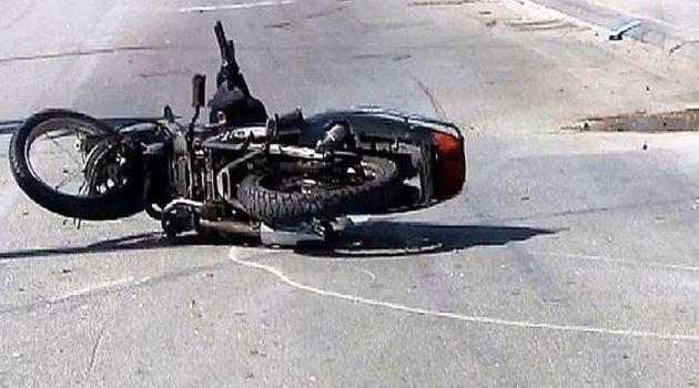 Ναύπακτος: Τροχαίο ατύχημα με τραυματισμό δικυκλιστή (Video – Photos)